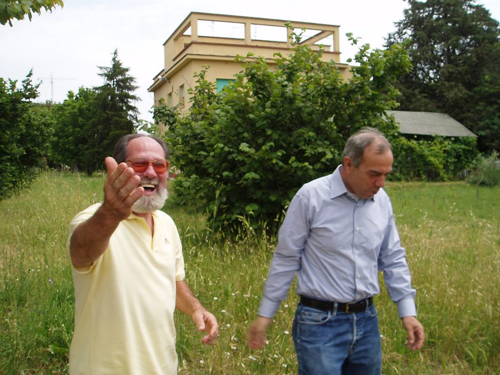 Carlo con Giovanni Spronelli S.Alessandro Roma